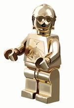 C-3PO chrome gold