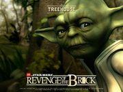 Revenge of the brick yoda