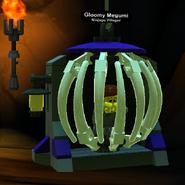 Gloomy Megumi caged