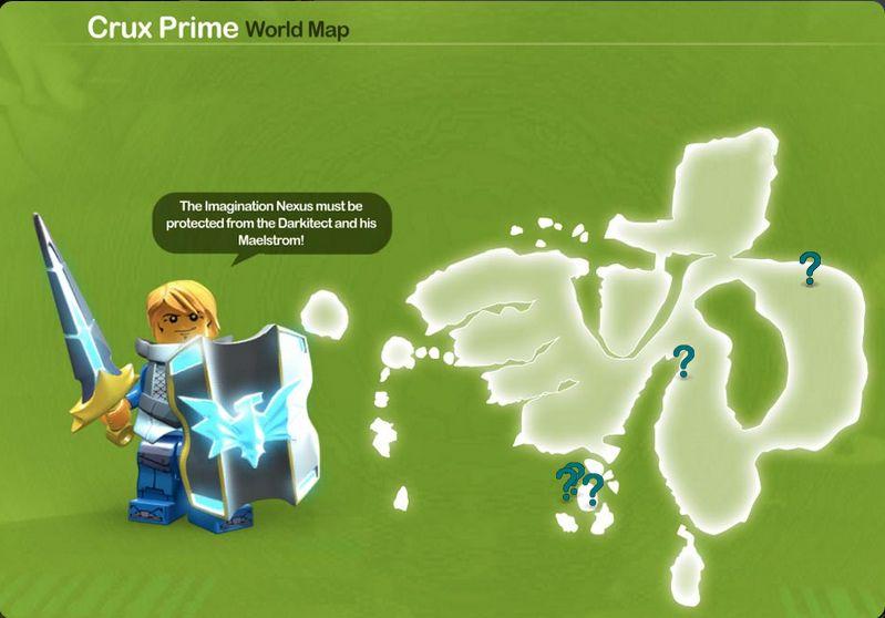 Crux Prime blossoms