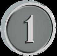 Pre-Alpha Silver Coin ''1''