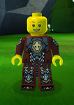 Ninjago Earth Armor - Helmetless