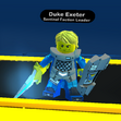 Duke Exeter in-game