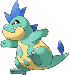 159 Croconaw Shiny