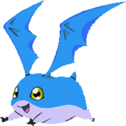 Patamon Toei Blue