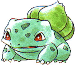 001 Bulbasaur RG2