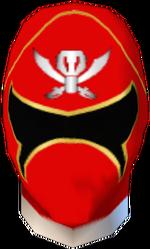 Gokai Red Helmet
