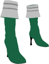 Gokai Green Stilettos