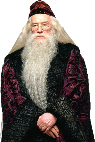 Albus Dumbledore, former Hogwarts teachers of transfiguration and Headmaster.
