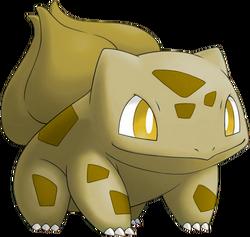 001 Bulbasaur ETD Gold