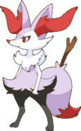 Shiny Braixen B9