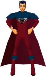 Superman RedBlu Suit 1