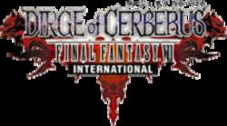 Dirge of Cerberus International Title