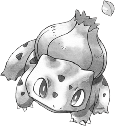001 Bulbasaur RG Silver