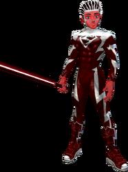 Red Superman Saber Red