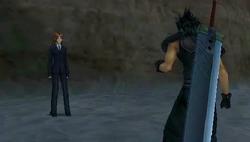 Cissnei confronts Zack CCVII
