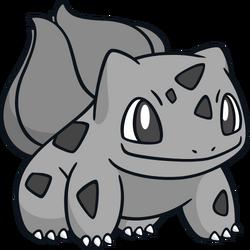 001 Bulbasaur DW Silver