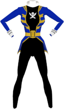Blue Gokai Suit F