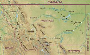 Montana-map