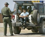 Border Patrol Confrontation