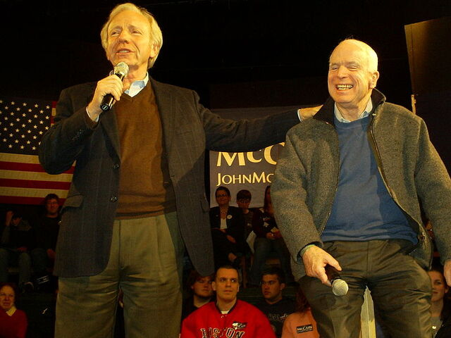 File:John McCain & Joe Liebermann.jpg