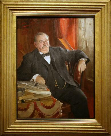 File:Stephen Grover Cleveland, Twenty-second President (1885-1889), Twenty-fourth President (1893-1897).jpg