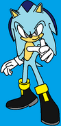 Ice the Hedgehog (recolored)