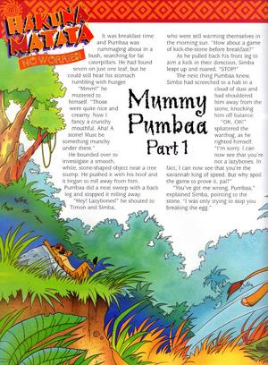 Mummy Pumbaa 1