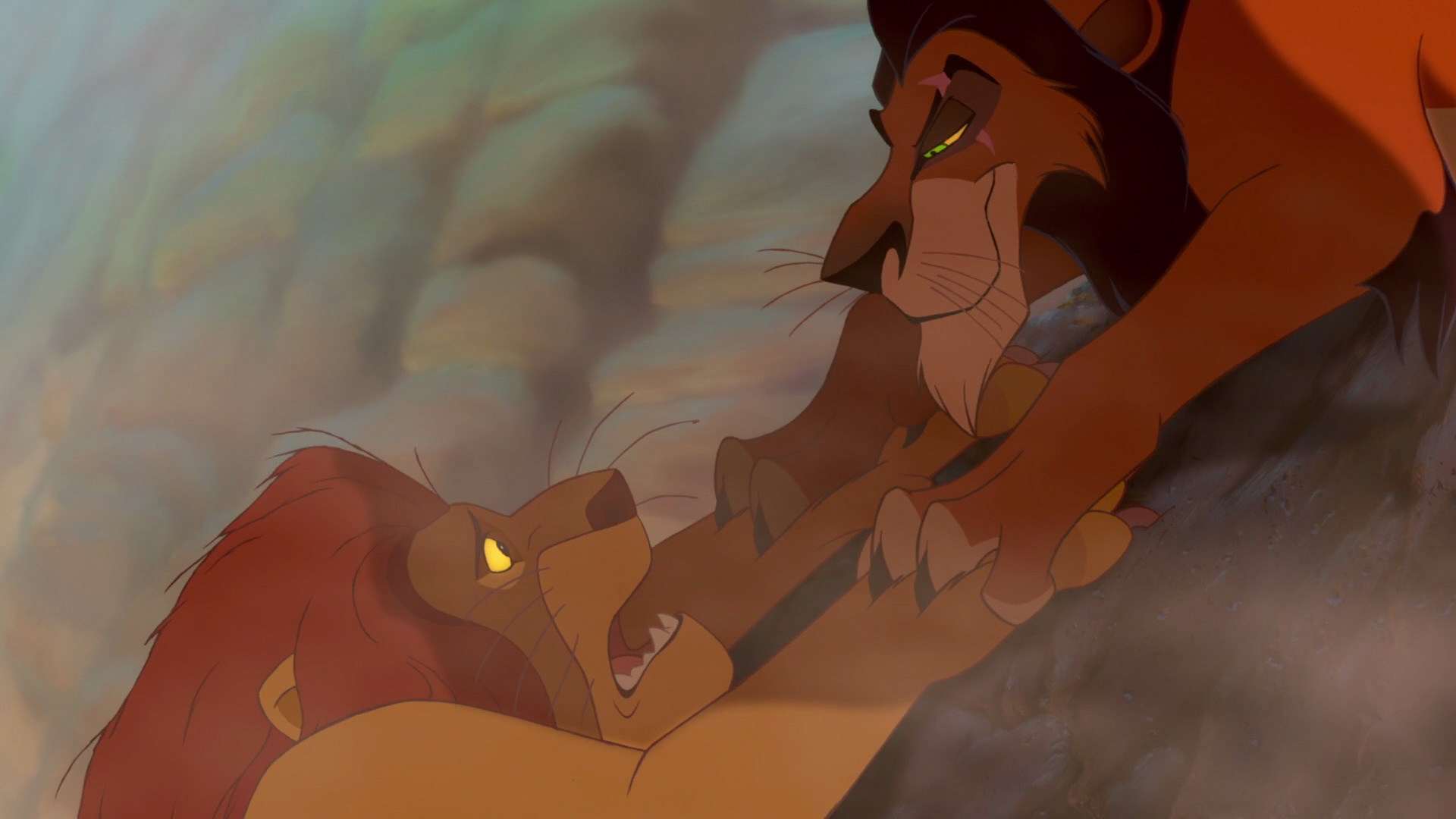 Image result for mufasa's death scene