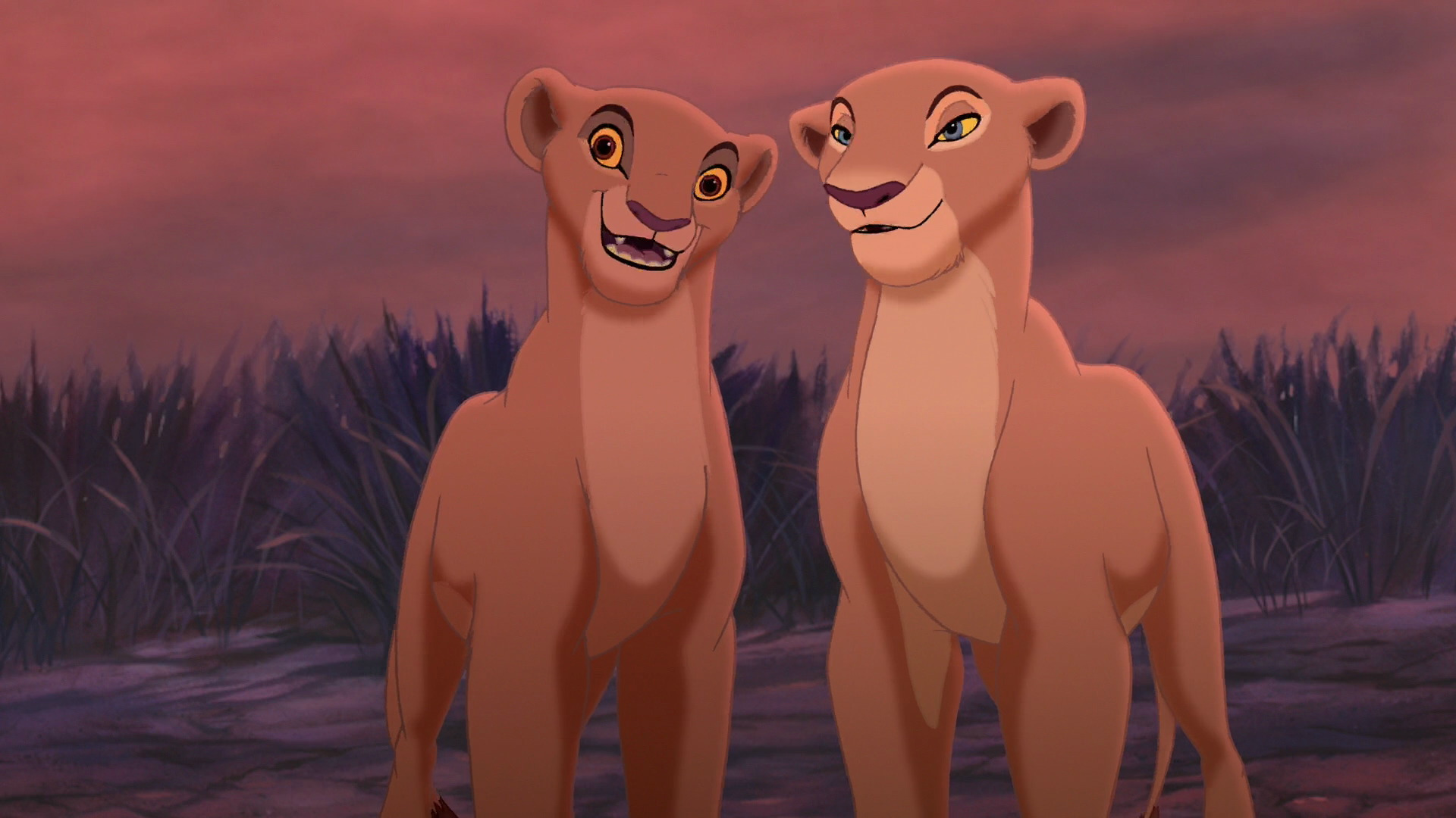 Image - Lion-king-2-kovu-and-kiara-human-i4.png | The Lion ...
