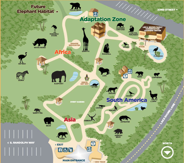 Reid Park Zoo List Of Major Zoos In The U S Wiki
