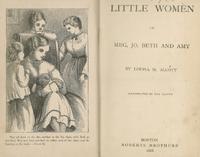 1868LittleWomenTitlePage