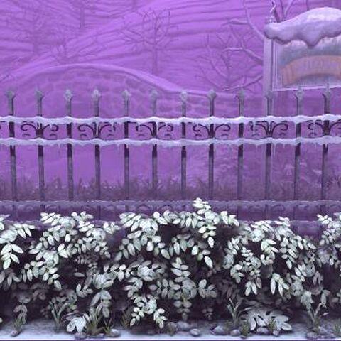 The background of Stitchem (Winter) in LittleBigPlanet 3