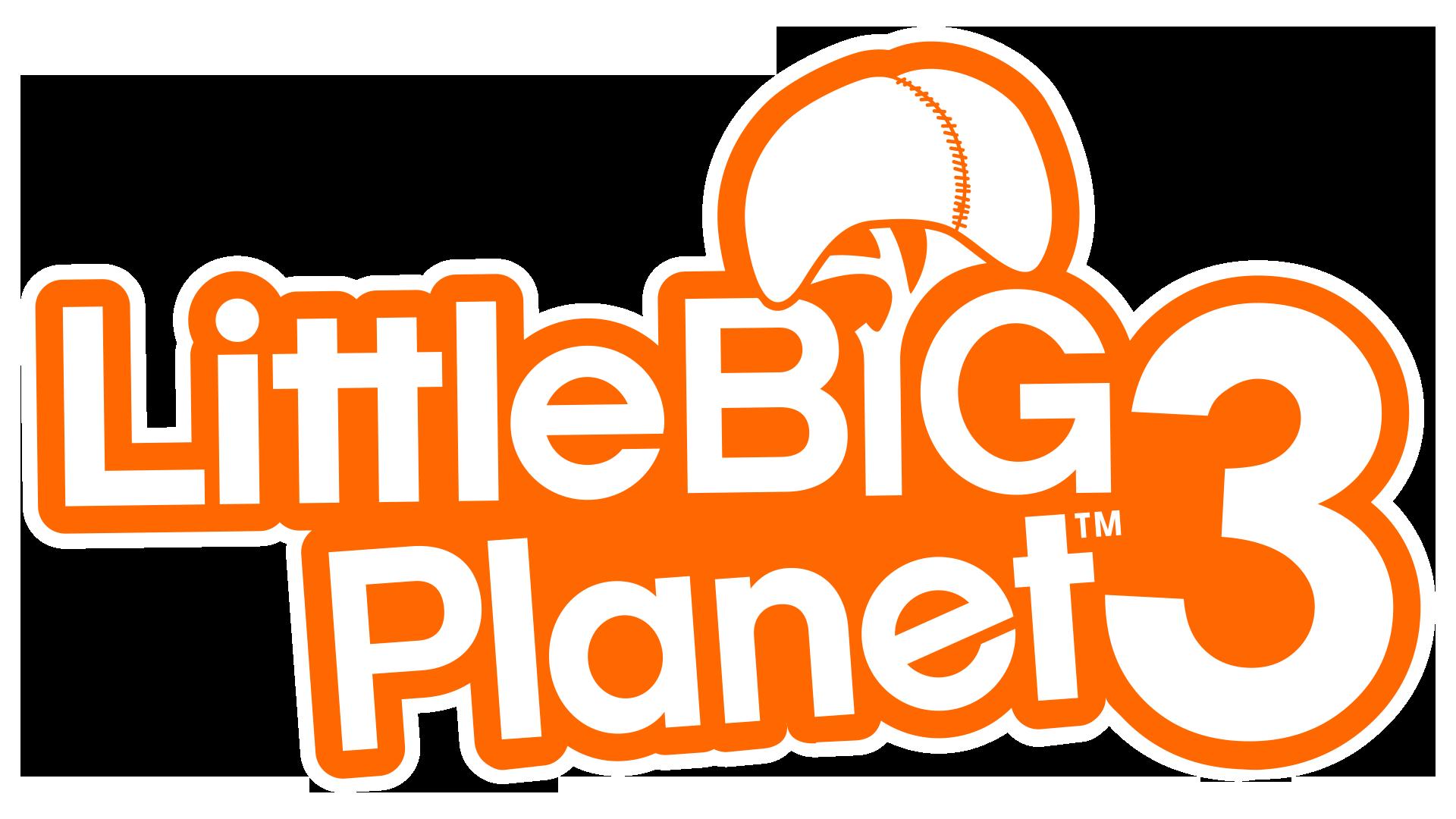 Resultado de imagem para LittleBigPlanet 3 logo png
