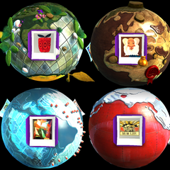 The main 4 worlds