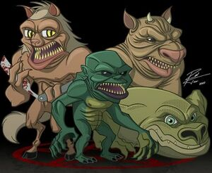 Ghoulies wiki fandom powered by wikia for Cat goes fishing wiki