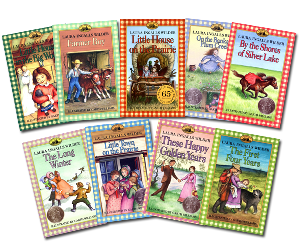 Image result for little house on the prairie book series