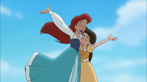 Ariel and Melody singing