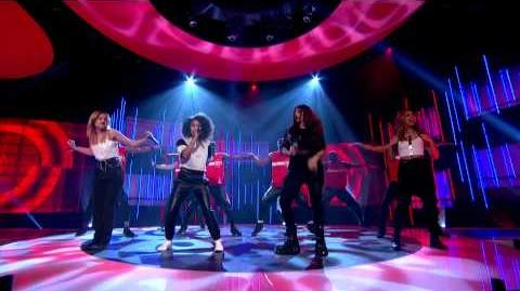 Little Mix perform the official Sport Relief single, Word Up, live Sport Relief 2014-0