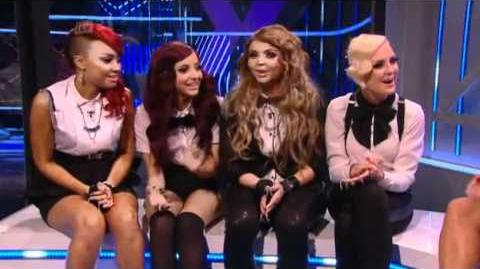 "The Xtra Factor - Live Shows Top 06 (19 11 11) - ""Little Mix"" Interview"