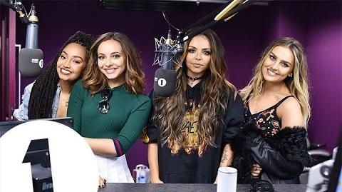 Little Mix & Grimmy talk Lust in the Kebab Shop
