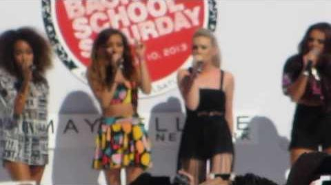 "Little Mix ""How Ya Doin'?"" - The Grove LA for Teen Vogue BTSS"