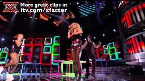Push It Real Good with Rhythmix - The X Factor 2011 Live Show 3 - itv