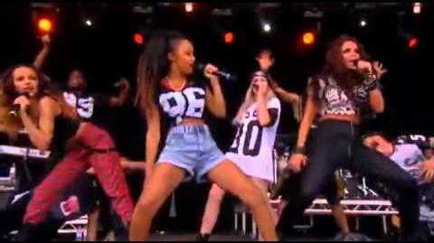 Little Mix - T in the park (DNA and Wings)