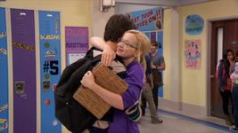 Diggie and Maddie Hugging