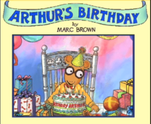 Living Books - Titles-Arthur's Birthday.