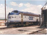 CSX F3A 116-s