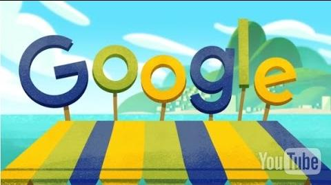 Google Doodle Rio Olympics 2016 – Day 1 Doodle Fruit Games