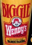 Wendy's Biggie logo