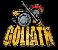 Goliath (Six Flags Great America) logo